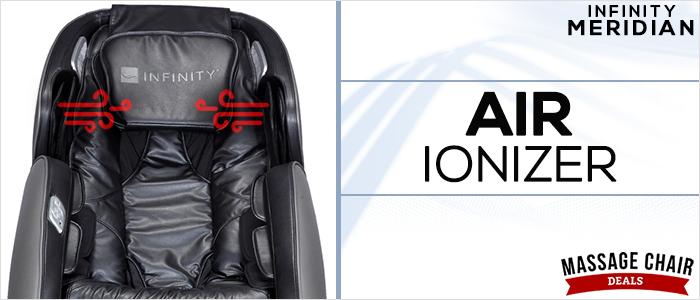 Infinity Meridian Massage Chair Air Ionizer