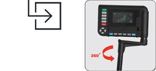 OS-3D Pro Intelligent Swivel Remote