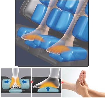 Omega Montage Premier Massage Chair Adjustable Footrest