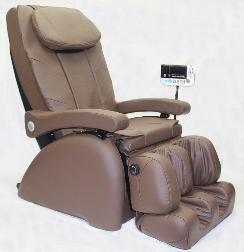 Omega Montage Premier Massage Chair with Arm Massage Brown