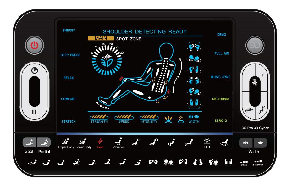 Osaki 3D Pro Cyber Remote Control