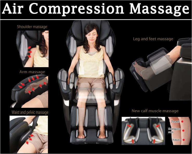 Osaki 4D JP Premium Japan Massage Chair Air Compression