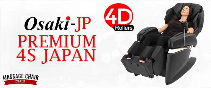 Osaki 4D JP Premium Japan Massage Chair Header