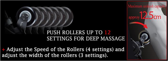 Osaki 4D JP Premium Japan Massage Chair Roller Adjustment