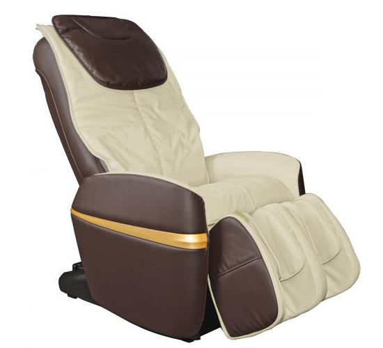 Osaki OS-2000 Combo Zero Gravity Massage Chair Brown and Beige