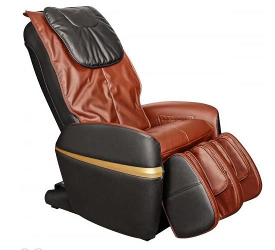 Osaki OS-2000 Combo Zero Gravity Massage Chair Brown and Cognac