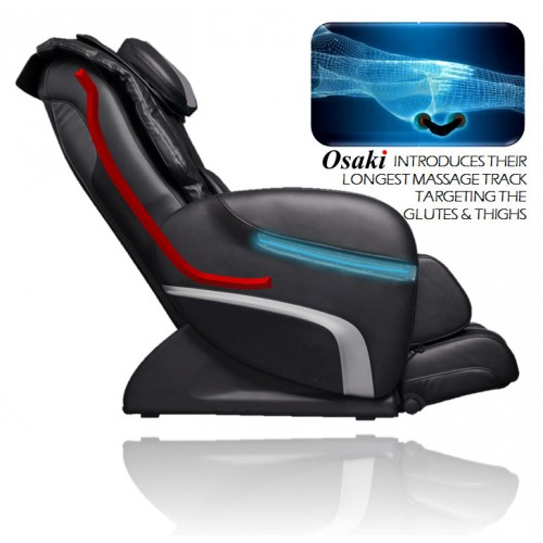 Osaki OS-3000 Chiro Massage Chair Longest Massage Track Targeting