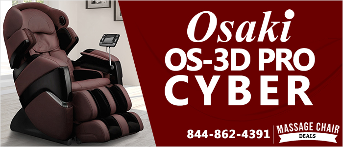 Osaki OS-3D Pro Cyber Massage Chair Header