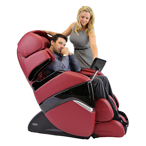 Osaki OS-3D Pro Cyber Massage Chair Red