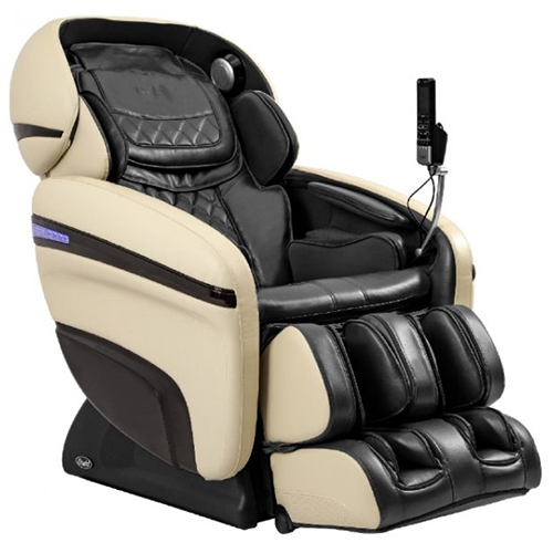 Osaki OS-3D Pro Dreamer Massage Chair Black and Cream
