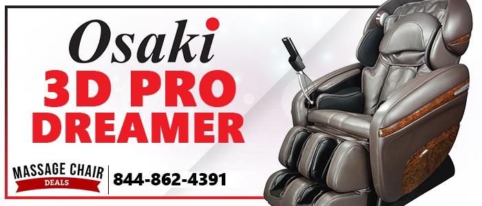 Osaki OS-3D Pro Dreamer Massage Chair Banner