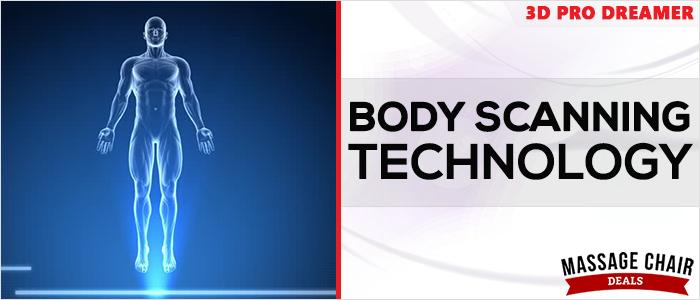 Osaki OS-3D Pro Dreamer Massage Chair Body Scanning
