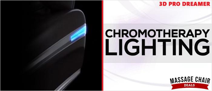 Osaki OS-3D Pro Dreamer Massage Chair Chromotherapy Lighting