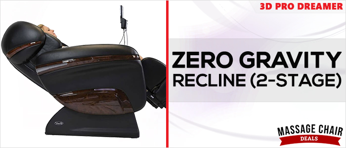Osaki OS-3D Pro Dreamer Massage Chair Zero Gravity Recline