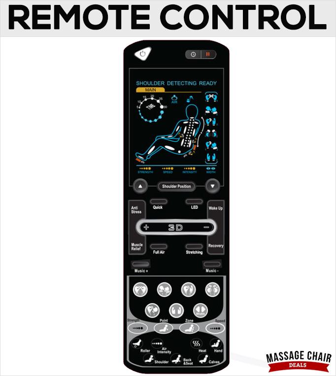 Osaki OS-3D Pro Dreamer Remote Control