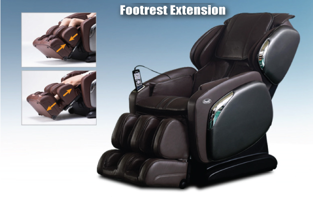 Osaki OS-4000LS Massage Chair Spring Loaded Foot Ottoman