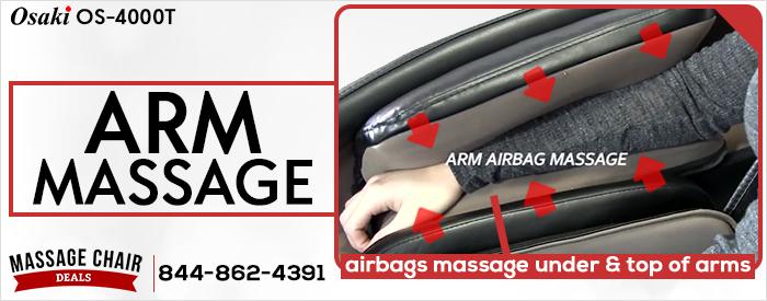 Osaki OS-4000T Arm Massage