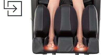 Osaki OS 4D JP Japan Premium Massage Chair Heated Foot Massage