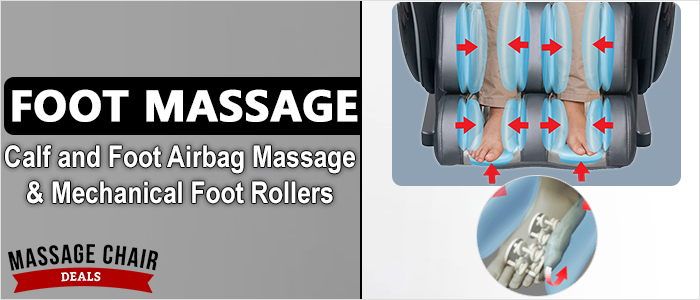 Osaki OS-7200CR Massage Chair Calf and Foot Massage