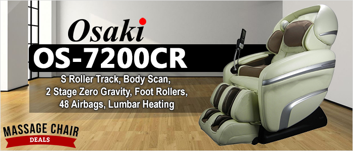Osaki OS-7200CR Massage Chair Header Banner