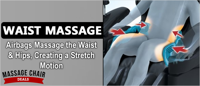 Osaki OS-7200CR Massage Chair Waist Airbags