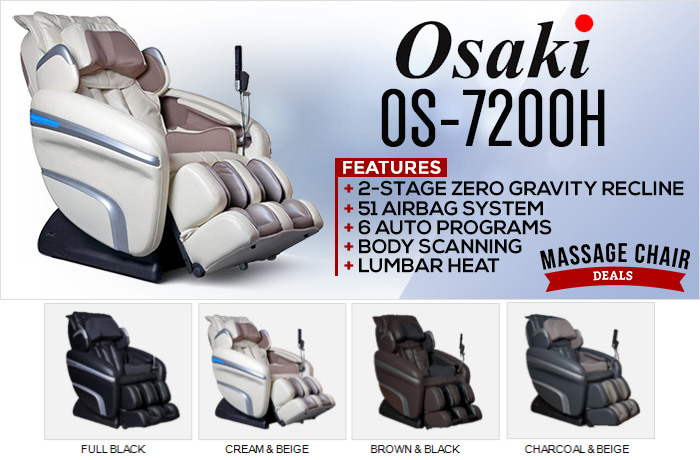 Osaki OS-7200H Massage Chair Banner