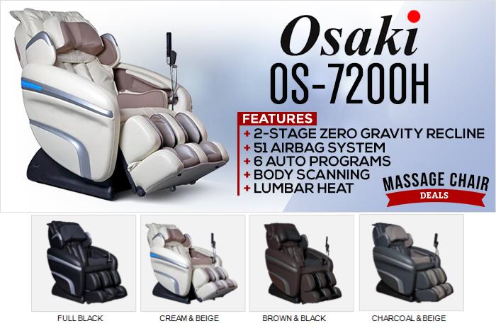 Osaki OS-7200H Massage Chair Banner