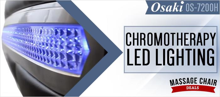 Osaki OS-7200H Massage Chair Chromptherapy Lighting