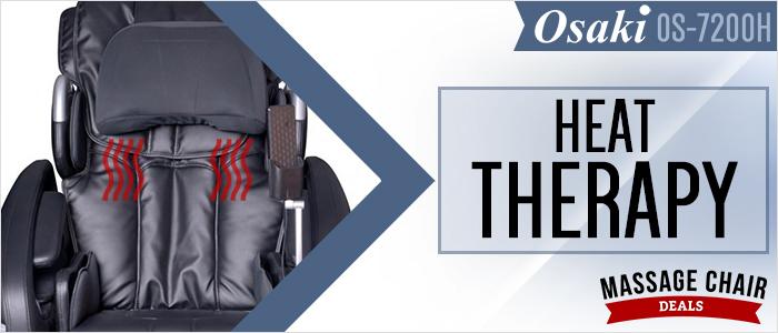 Osaki OS-7200H Massage Chair Heat Therapy