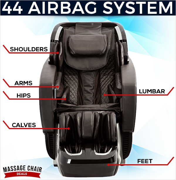 Osaki OS-Pro Ekon Massage Chair Airbag System