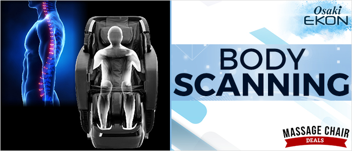 Osaki OS-Pro Ekon Massage Chair Body Scanning