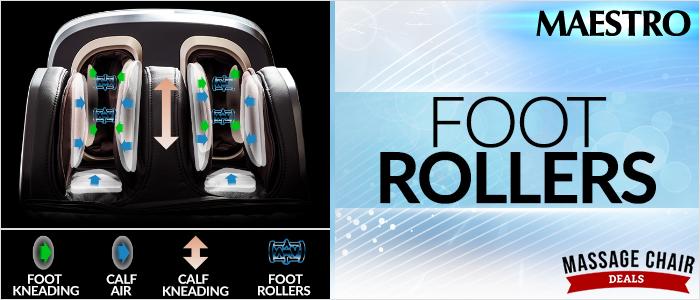 Osaki OS-Pro Maestro Foot Rollers