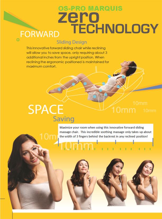 Osaki OS-Pro Marquis Zero Gravity Massage Chair Features 02