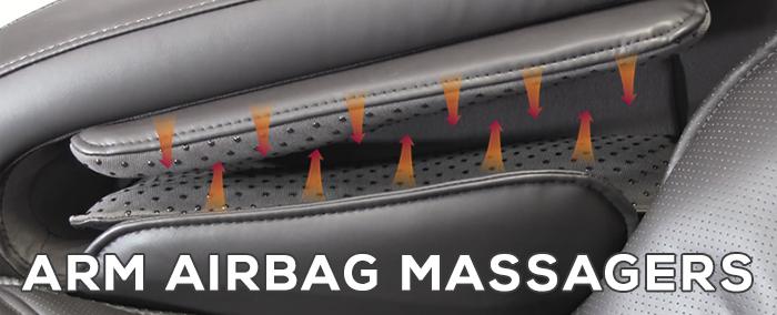 Osaki OS-Pro Maxim Massage Chair Arm Airbags