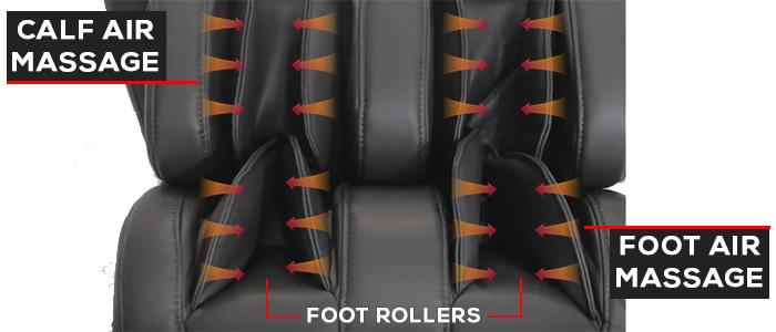 Osaki OS-Pro Maxim Massage Chair Foot and Calf Air Massage