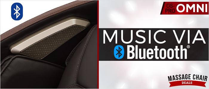 Osaki OS-Pro Omni Music System with Bluetooth
