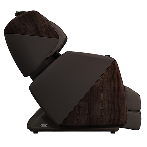 Osaki Soho Massage Chair Brown Side View
