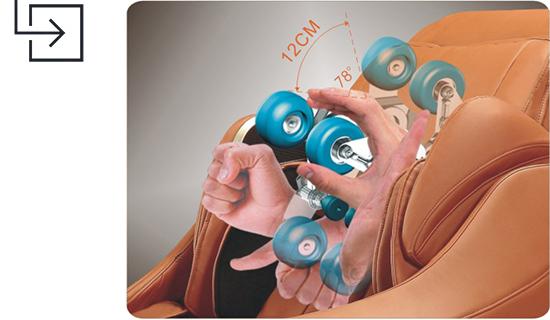 Titan Pro Executive 3D Adjustments