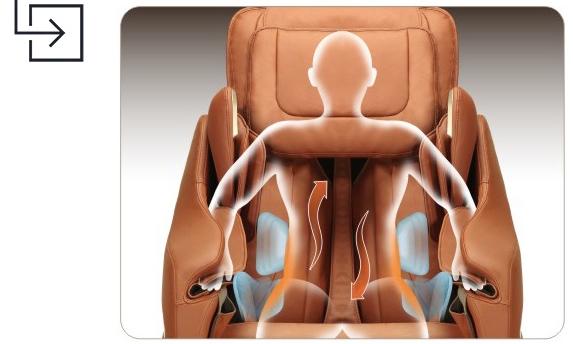 Titan Pro Executive Massage Chair Back Twist