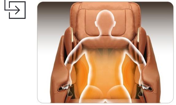 Titan Pro Executive Massage Chair Heating
