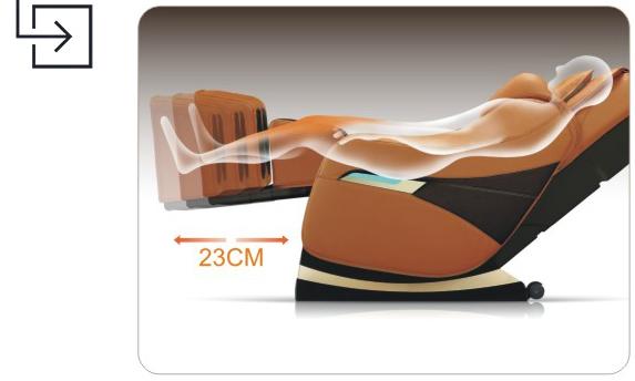 Titan Pro Executive Massage Chair Leg Extension