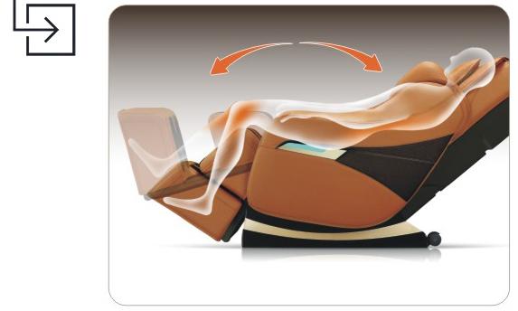 Titan Pro Executive Massage Chair Leg Waist Stretch