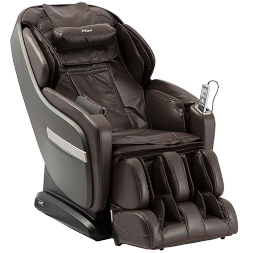 Titan Pro Summit Massage Chair Brown