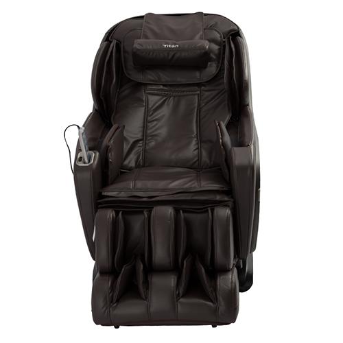 Titan Pro Summit Massage Chair Brown Front View