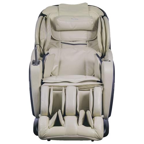 Titan Pro Summit Massage Chair Cream Front View