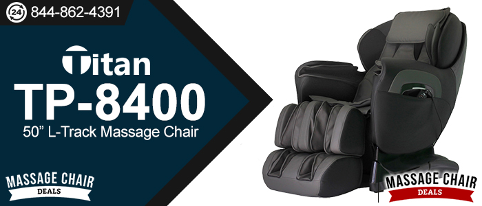 Titan TP-8400 Massage Chair Header
