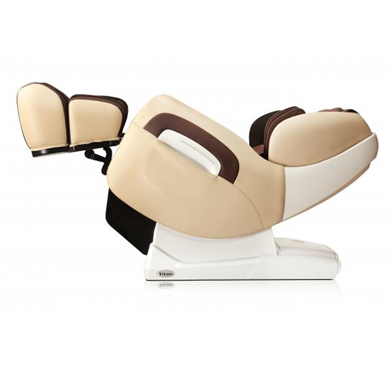 Titan TP Pro 8400 Massage Chair beige and brown Zero Gravity