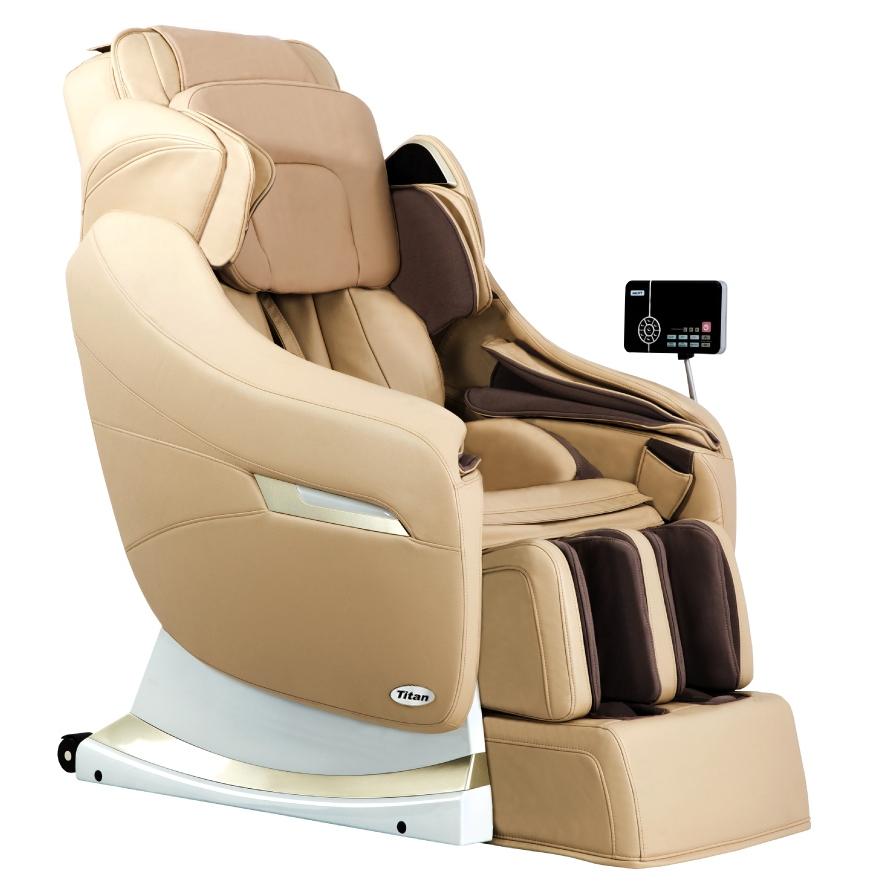 Titan TP-Pro Executive Massage Chair Cream