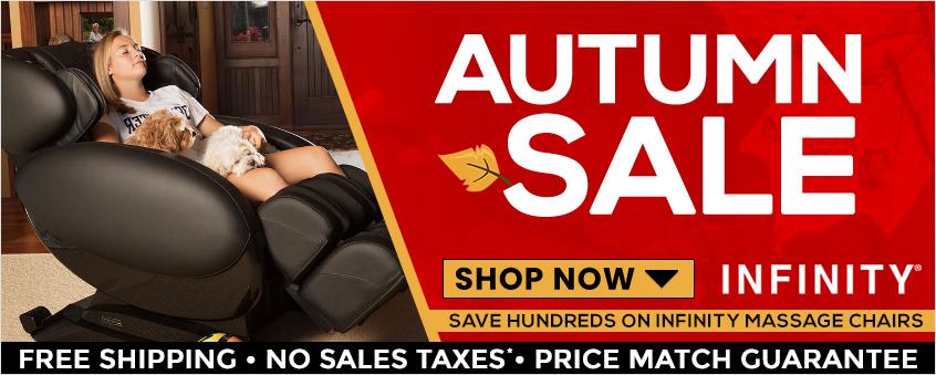 Infinity Massage Chairs Autumn Sale