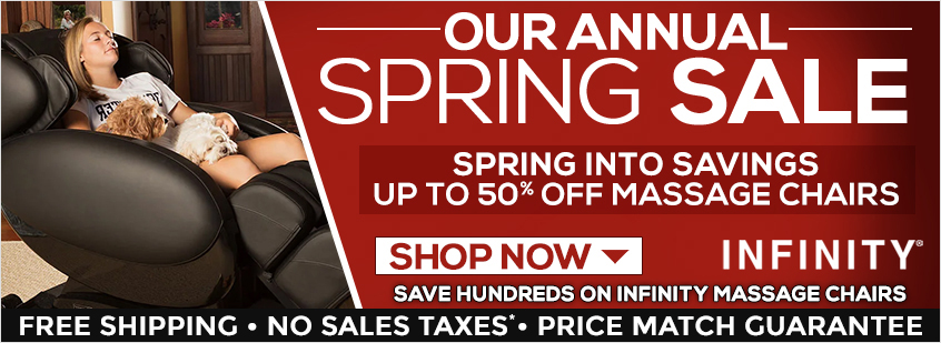 Infinity Massage Chairs Spring Sale